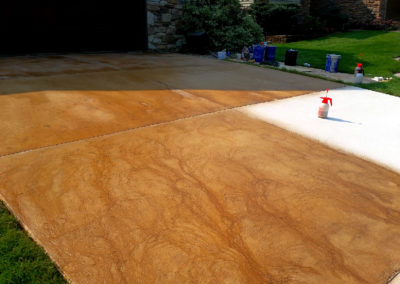 Driveway Overlay, Driveway Seal, Driveway Stain, Driveway Cracks, Driveway Repair., Driveway Progressjpg